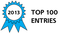 2013 Top 100 Entries