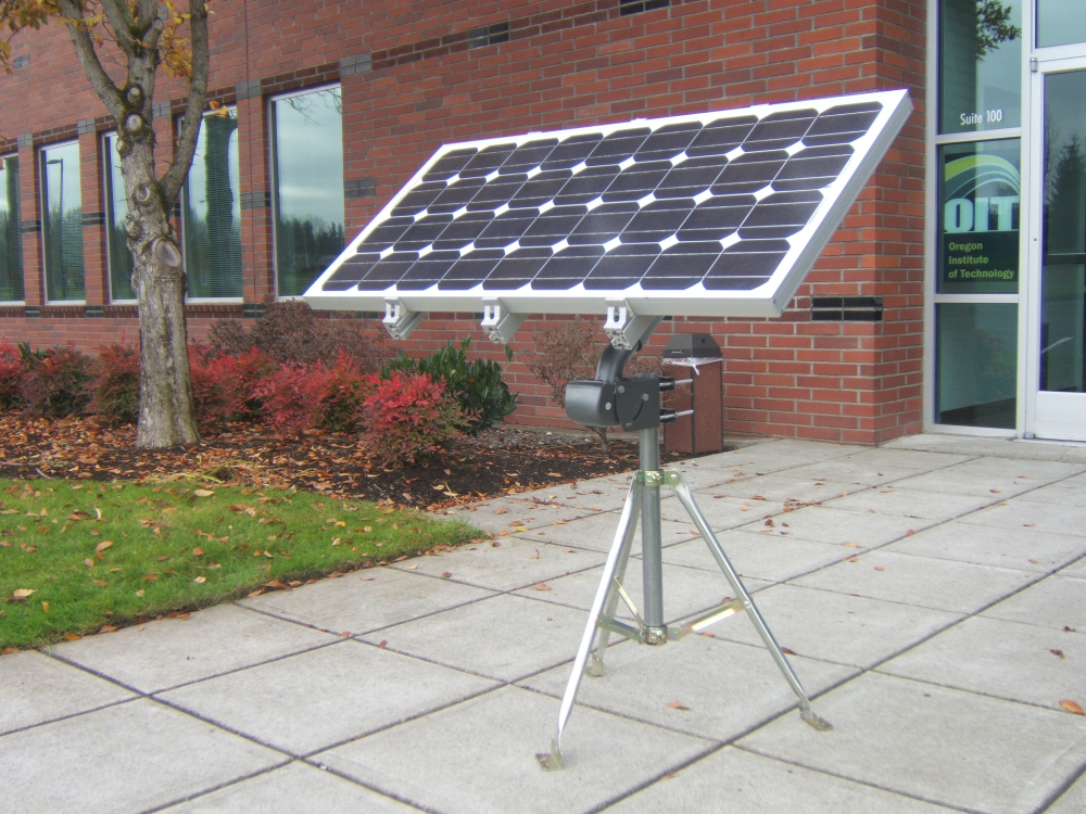Portable Single Axis Solar Tracker Create The Future