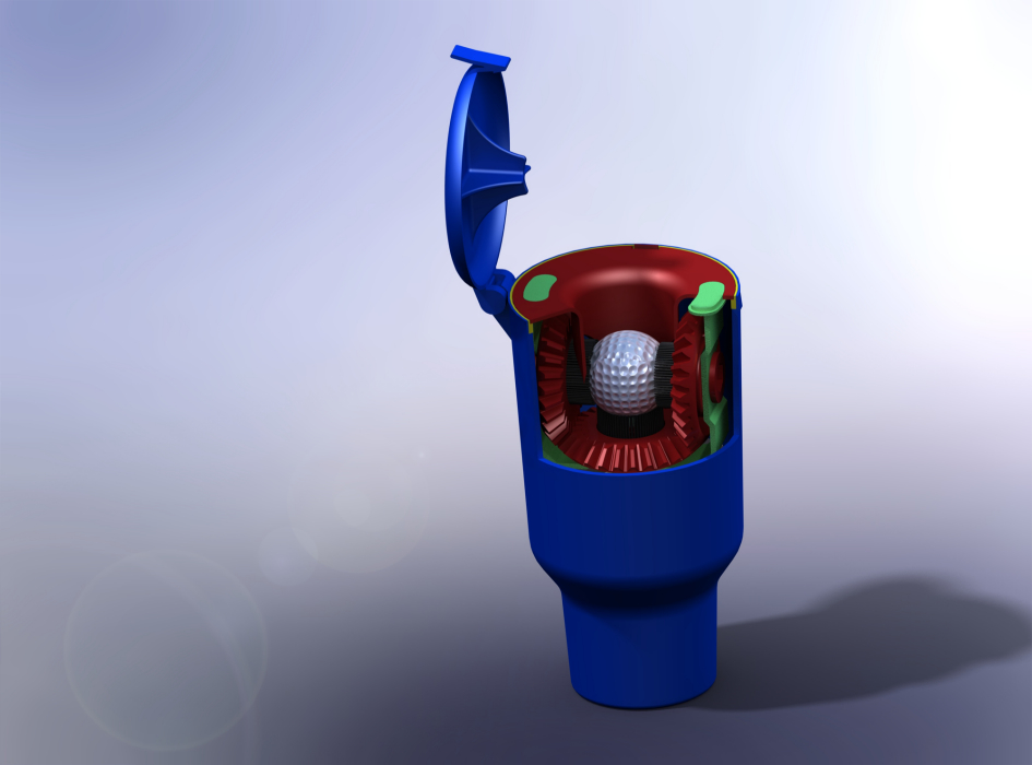 how to make a golf ball washer
