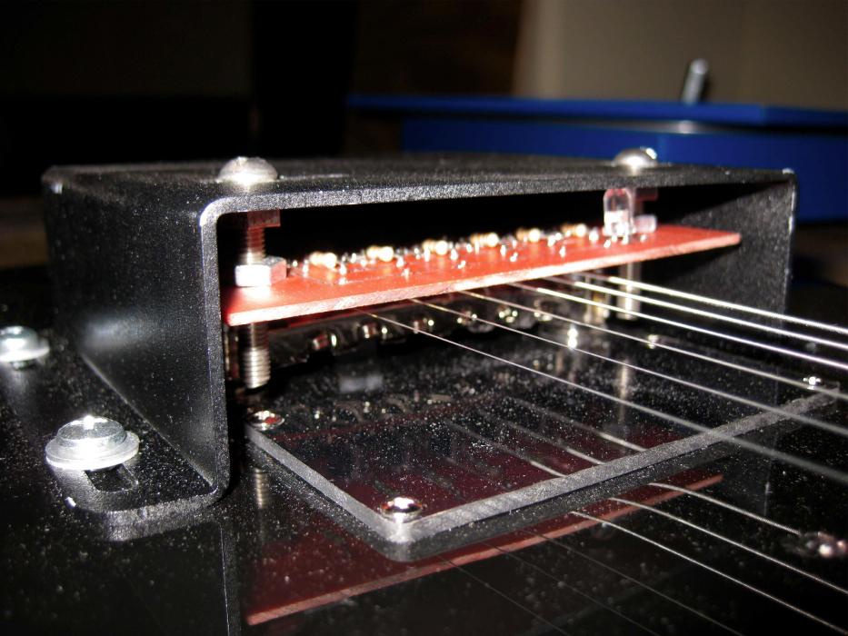 Optical Guitar Pickup