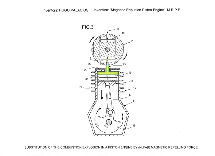 magnetic repulsion piston engine (mrpe) create the future design magnetic field illustration magnetic repulsion piston engine (mrpe) create the future design contest