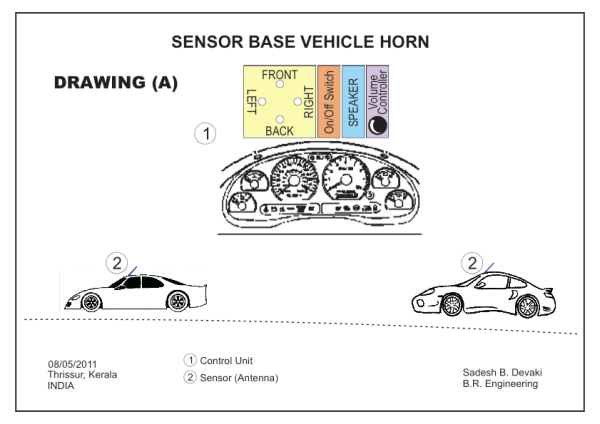 Sensor Based Vehicle Horn