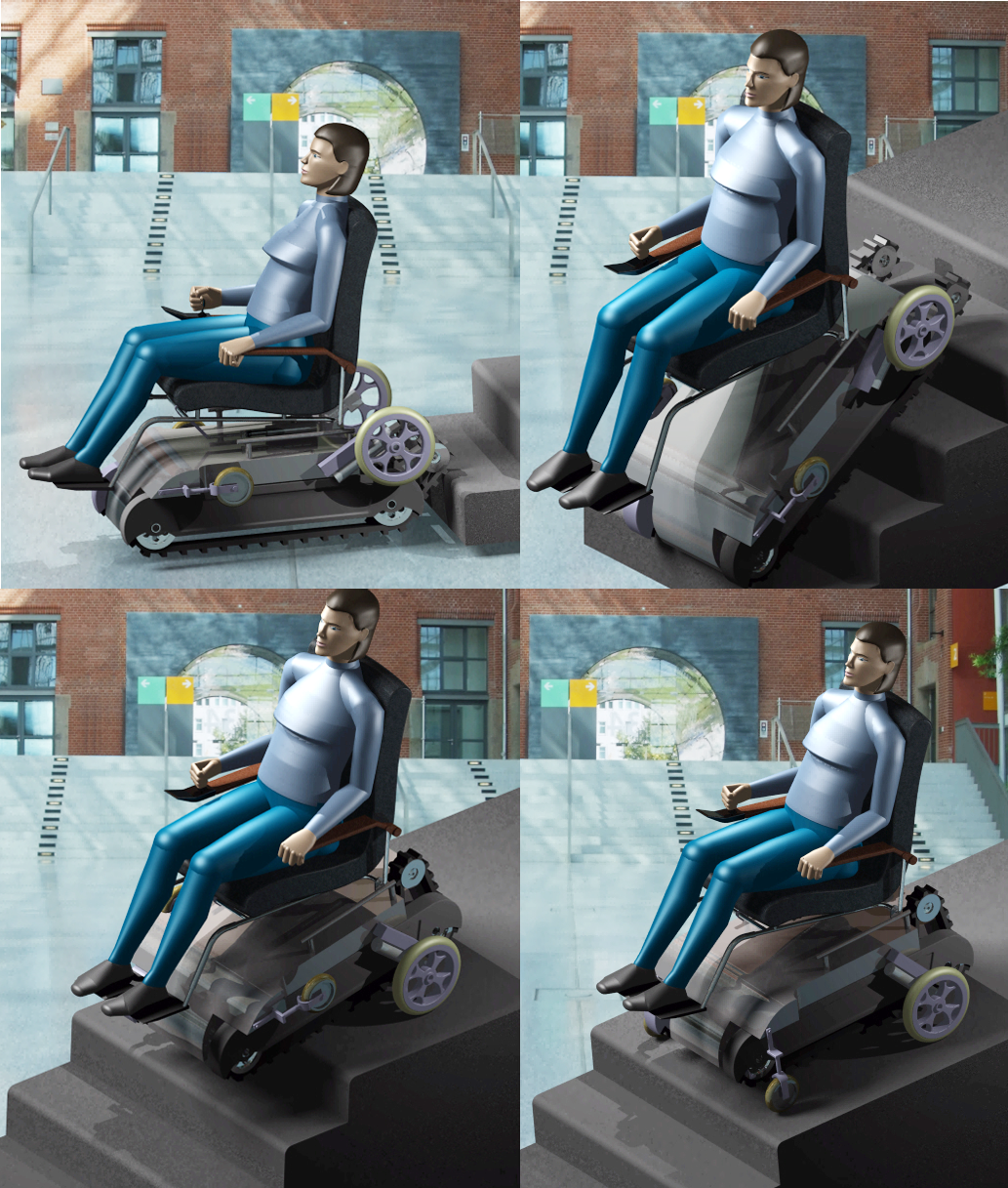 Stair Climbing Wheelchair :: Create the Future Design Contest