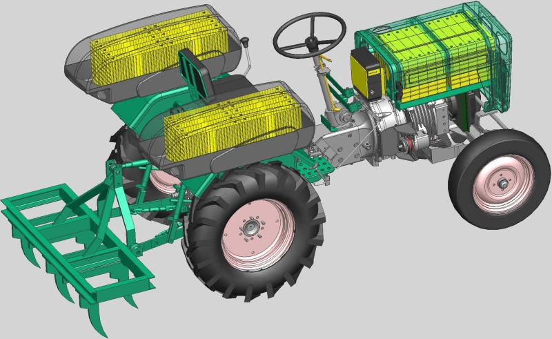 Multi Powered Electric Tractor Create The Future Design