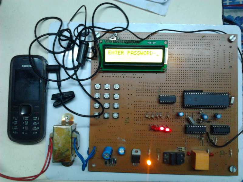 An Advanced Energy Saver Project with DTMF Capabilities to Use ...