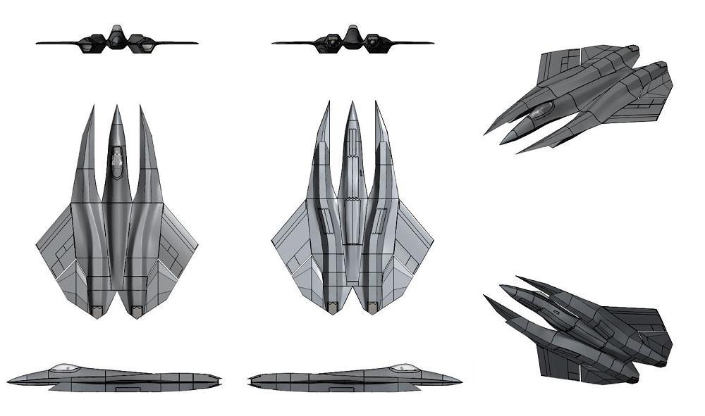 Sm 39 Razor Air Superiority Fighter Create The Future