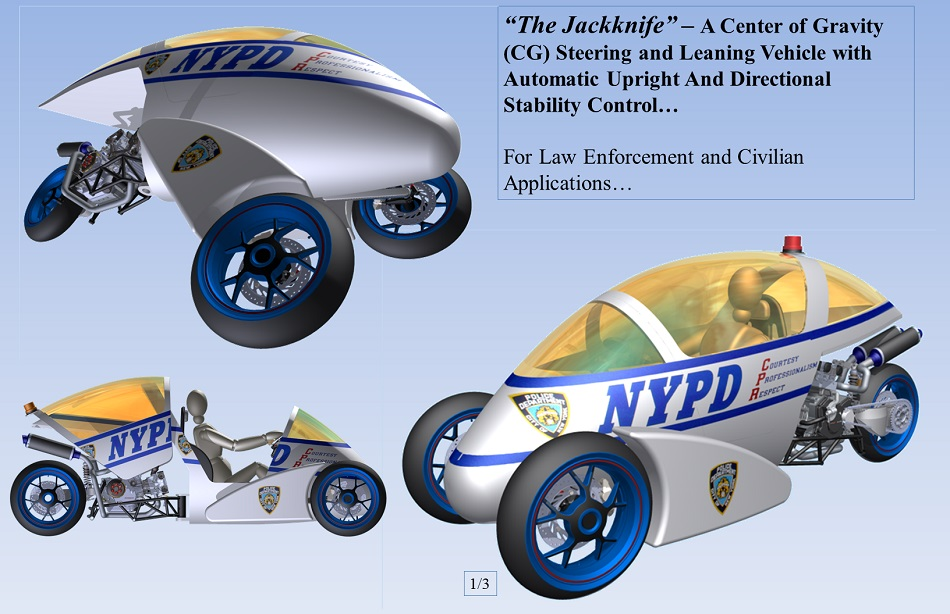 The Jackknife A Center Of Gravity Cg Steering And Leaning