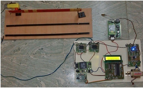 Automatic Toll Gate System Using Advanced Rfid And Gsm