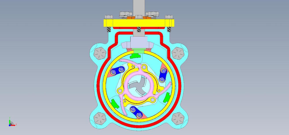 high performance shutter valve    create the future design