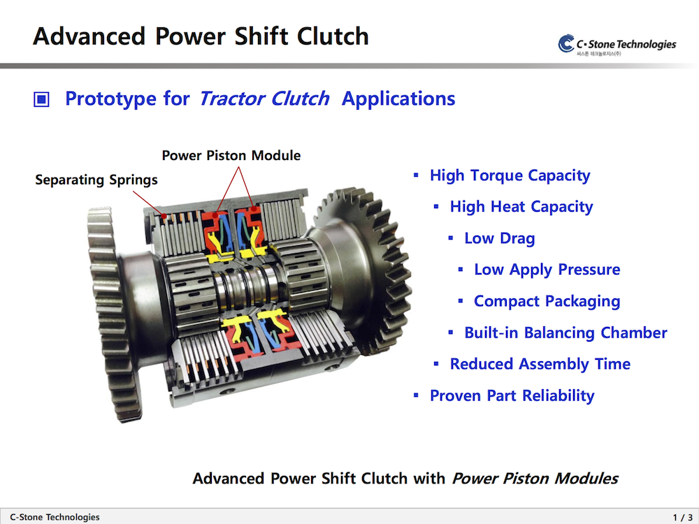 Rebuilt Tractor Clutches : Advanced power shift clutch create the future design