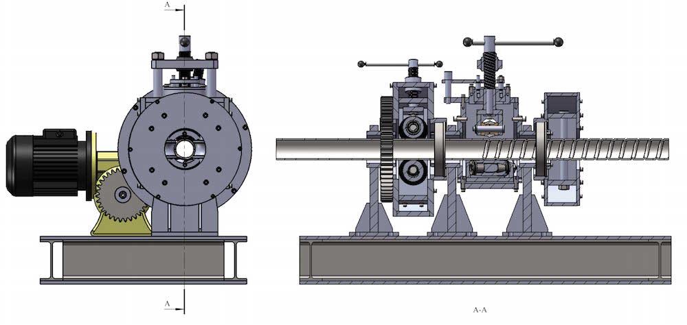 Automatic Tube Corrugating Machine