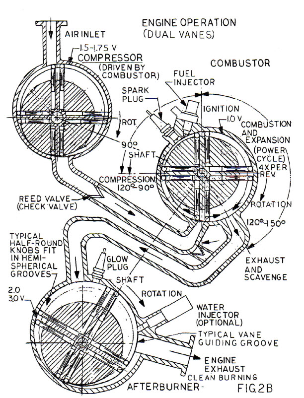 Rotary Engine Us 7117839