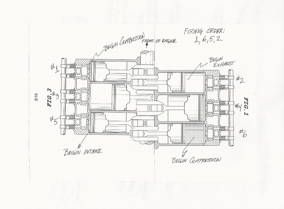 My Proposed Supercharged Engine Design Incorporates A Pressor Cylinder 2 Into 3cylinder Modular In Which Cylinders 1 And 3 Are Internal: 3 Cylinder Engine Diagram At Executivepassage.co