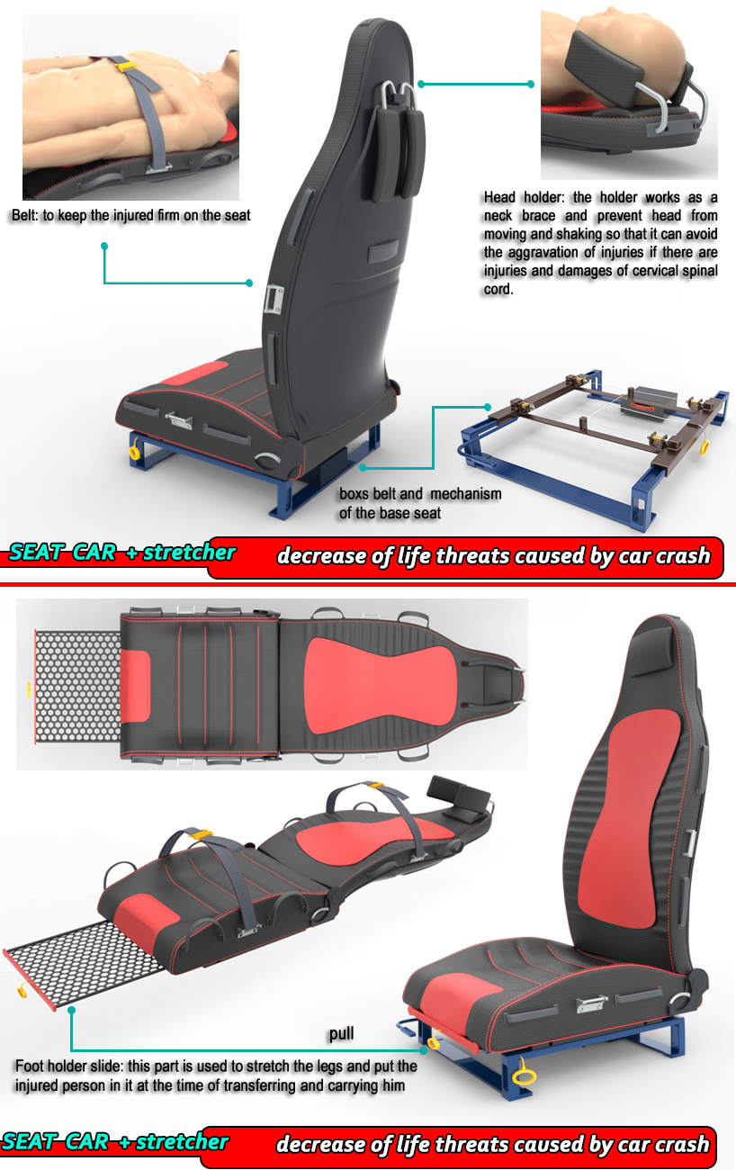 Seat Of Car Stretcher Create The Future Design Contest