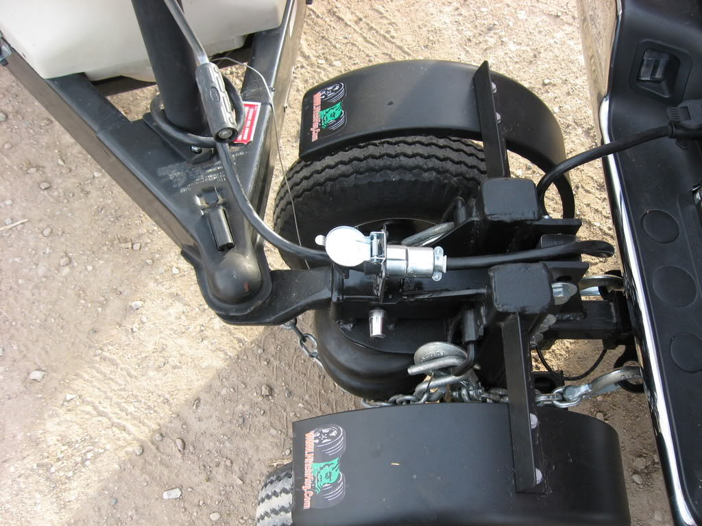 Air Ride Self Supporting Automotive Hitch Create The