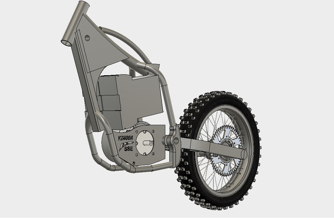 Electric off road motorcycle conversion kit create the for How to make an electric bike with a starter motor